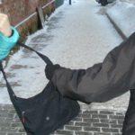 В Котельничском районе мужчина вырвал сумку с вещами у прохожей