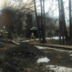 В Кирове загорелся жилой дом