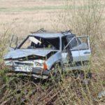 В Советском районе водитель ВАЗ-21099 опрокинулся в кювет: мужчина госпитализирован