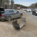 В пригороде Кирова на трассе «Вятка» столкнулись «Тойота» и «Хонда»