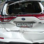В Кирове столкнулись грузовик Mercedes и Toyota