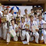 Сборная Кировской области победила на чемпионате и первенстве России по киокусинкай в командном зачете