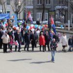 В Кирове в первомайском шествии приняли участие более 3 тысяч человек