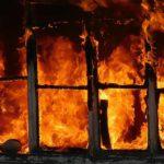В Зуевском районе при пожаре в квартире погиб пенсионер