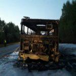 «Просили остановиться, но все проезжали мимо»: появились подробности пожара в автобусе на трассе Киров-Слободской