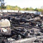 В Санчурске на пожаре погибли четыре человека, одному удалось спастись