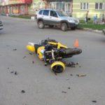 В Кирове водитель «Мерседеса» сбил мотоциклиста: 39-летнего водителя мотоцикла «Сузуки» госпитализировали