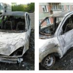В Кирове сгорел Ford Focus: не исключается версия поджога