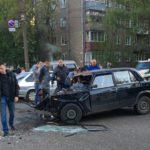 В Кирове на большой скорости столкнулись Subaru и «ВАЗ»