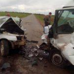 В Вятскополянском районе столкнулись ВАЗ и микроавтобус: погиб 30-летний водитель легкового автомобиля