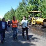 Администрация Кирово-Чепецка заставила подрядчика перекладывать асфальт