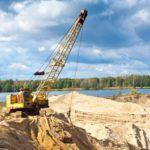 В Кирове на Филейском затоне незаконно добывали песок