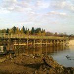 Мост через реку Кама около поселка Чус скоро заработает
