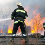 В Котельниче пожарные тушили сарай