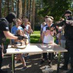 Сегодня около ста детей стали участниками мероприятия «Территория безопасности» в детском лагере «Юность»