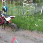 В Кирове 15-летняя мотоциклистка врезалась в дерево