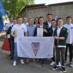 В Кировской области открыт трудовой сезон студенческого отряда «Анкер»
