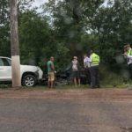 В Кирове столкнулись Land Cruiser и Hyundai: пострадавших увезли в реанимацию