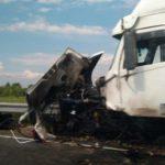 Автомобиль погибшего протоиерея из Советска столкнулся с грузовиком: машина превратилась в груду металла