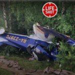 В Кировской области разбился легкомоторный самолет: пилот и пассажир госпитализированы