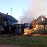 В Омутнинске сгорел жилой дом: специалисты не исключают версию поджога