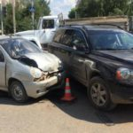 В Вятских Полянах столкнулись Volvo и Daewoo Matiz: пострадала 11-летняя девочка-пассажир