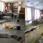 Ремонт крыши художественной школы в Вятских Полянах привел к затоплению помещений
