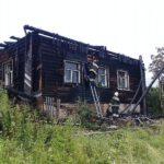 Очередной пожар в Омутнинске: сгорело здание ветлечебницы