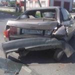 В Яранске «Газель» протаранила «Ауди»: водитель грузовика не успел затормозить