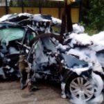 В страшной аварии в Юрье погибли двое мужчин