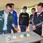 Бойцы студенческого отряда «Анкер» провели квест по электробезопасности для воспитанников оборонно-спортивного лагеря «Юнармеец»
