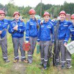 Студенческий отряд «Анкер» завершил работу в производственных отделениях филиала «Кировэнерго»