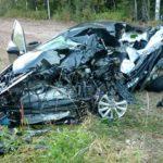 В Афанасьевском районе в столкновении Toyota Camry и грузовика Volvo погиб водитель легкового автомобиля