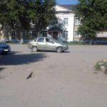 В Малмыже «Лада Калина» при движении задним ходом сбила пенсионерку с ребенком: женщина госпитализирована