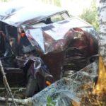 Два человека погибли в ДТП в Санчурском районе: ВАЗ-21053 съехал в кювет и врезался в дерево