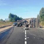 В Советском районе столкнулись «Лада Веста» и грузовой автомобиль: травмы получили три человека, в том числе двое детей