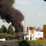 В Кирове горел битум