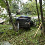 В Даровском районе пьяный водитель на «девятке» вылетел в кювет: мужчина получил травмы