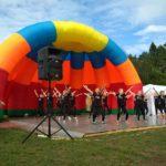 Более 200 детей стали участниками Открытого областного фестиваля современного хореографического искусства