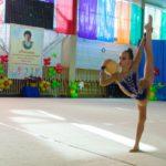 В Кирове прошли открытые областные соревнования по художественной гимнастике