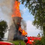 В Карелии сгорела уникальная деревянная церковь XVIII века: возможной причиной пожара называют поджог