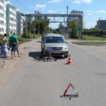 В Кирове водитель на «Ларгусе» сбил 6-летнего велосипедиста