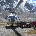 В Таджикистане вертолет совершил жесткую посадку и пропал: на борту, в том числе, были альпинисты из Кирова