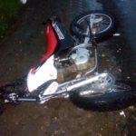 На трассе Киров – Слободской мотоциклист столкнулся с автомобилем Skoda Rapid