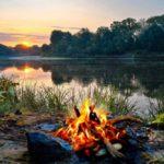 В Оричевском районе мужчина уснул у костра: ожоги составили 15% тела