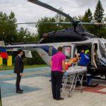В Кирове открыли четвертую вертолетную площадку санитарной авиации