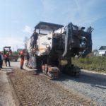 На участке дороги Опарино-Вазюк начались ремонтные работы