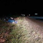 В Юрьянском районе погиб водитель «Mitsubishi Lancer»: автомобиль вылетел в кювет и перевернулся