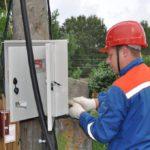 Филиал «Кировэнерго» проводит установку выносных приборов учета в населенных пунктах Кировской области