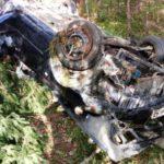 На трассе Слободской – Нагорск «Мазда» опрокинулась в кювет: погибла 49-летняя женщина-пассажир